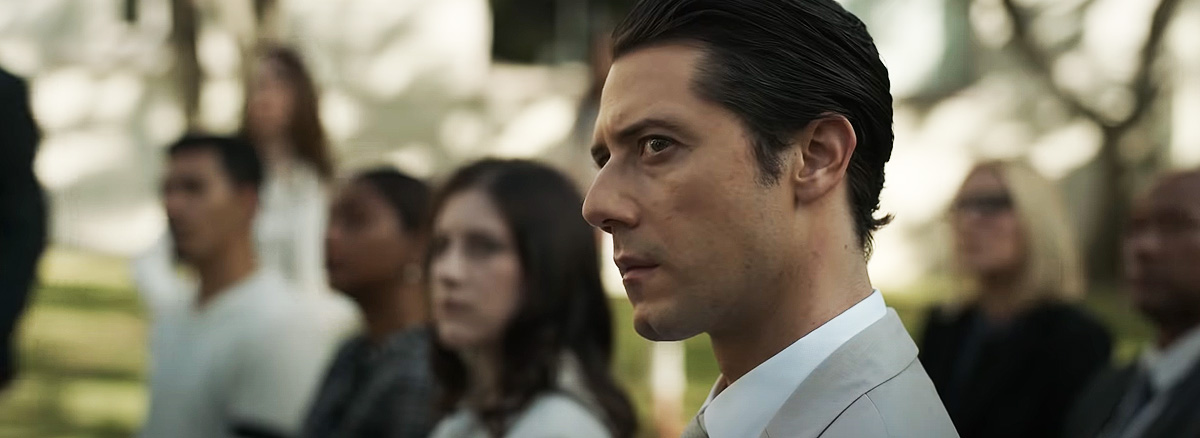 Hale Appleman as Lachlan in Truth Be Told